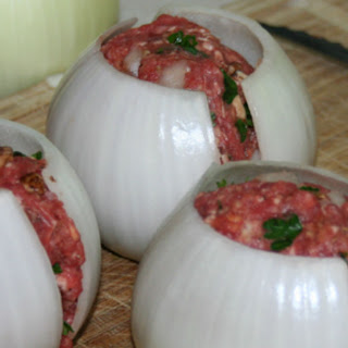 He's Putting Onion Around Meatballs, But What He Wraps Them In? I'm Running To The Grill!