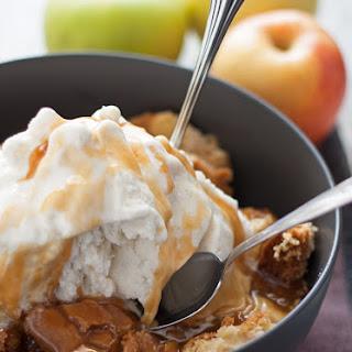 Apple Cake Sundae