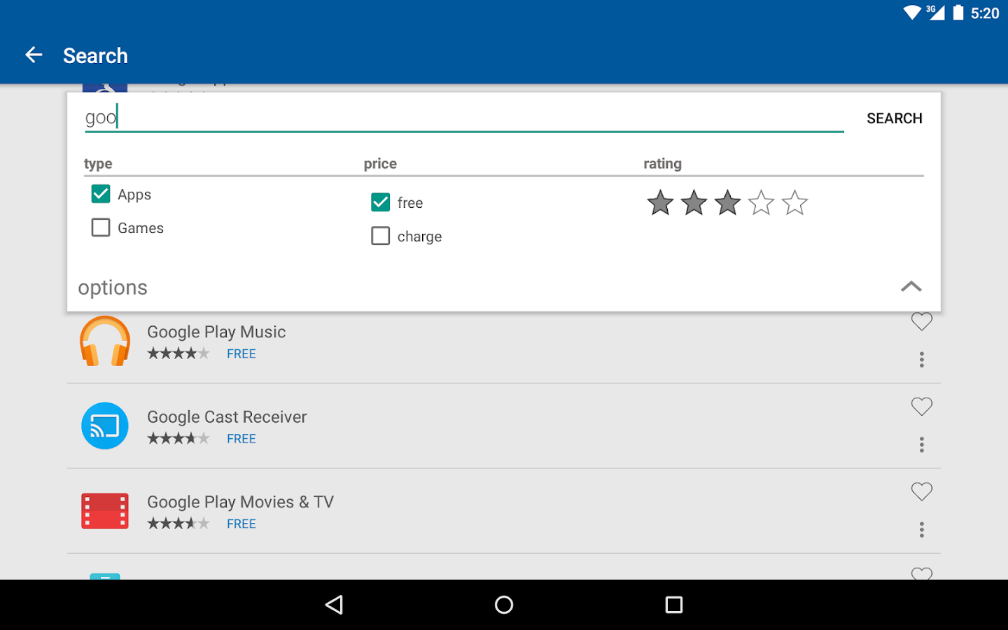TV Store for TV Apps- screenshot