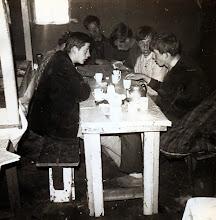 Photo: rechts Jan Kamping, Hans Homan, Lambert Hollander, Bram Hadderingh en links Geert Jan Niemeijer