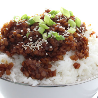 Sweet Korean Lentils Recipe