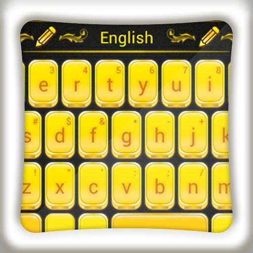 个人化のGOキーボードゴールド LOGO-記事Game