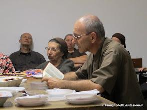 Photo: la lettura della compieta nella nuova bibbia