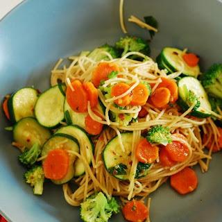 Weeknight Vegetarian Pasta.