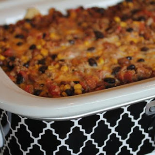 Crock Pot Nacho Cheese Casserole.