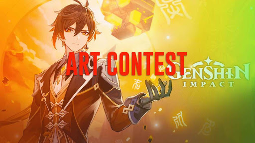 Genshin Impact's Zhongli Art Contest and Cosplay Contest Details