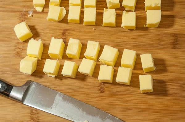 Cut the butter into 1/2-inch (1.3cm) cubes, and place in the refrigerator, for at...