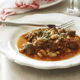 Lamb and Bean Stew.