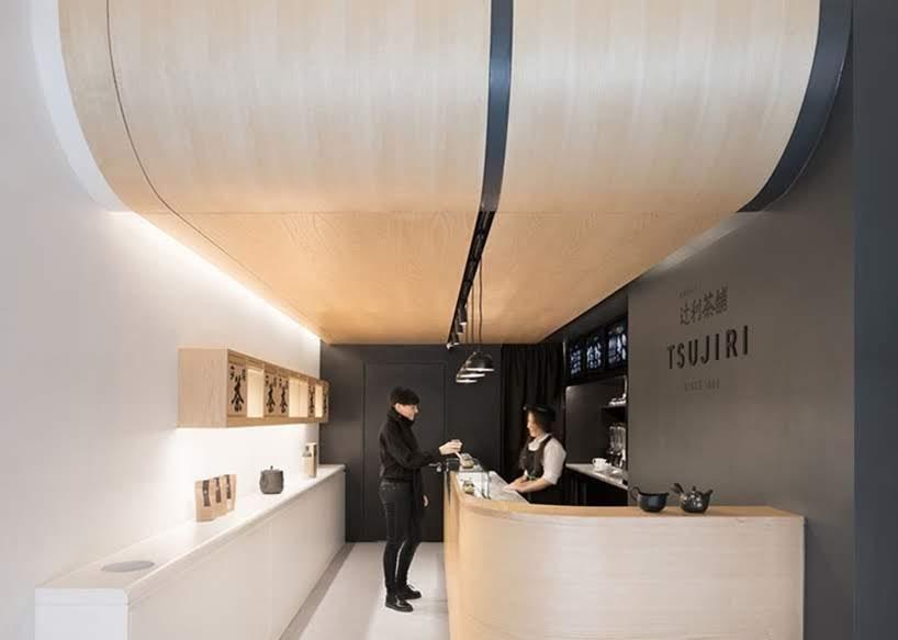 MIM Studios ha diseñado la casa de té japonesa Tsujiri London