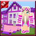 Mod Barbie Pink - Maps House Minecraft PE 2021 icon