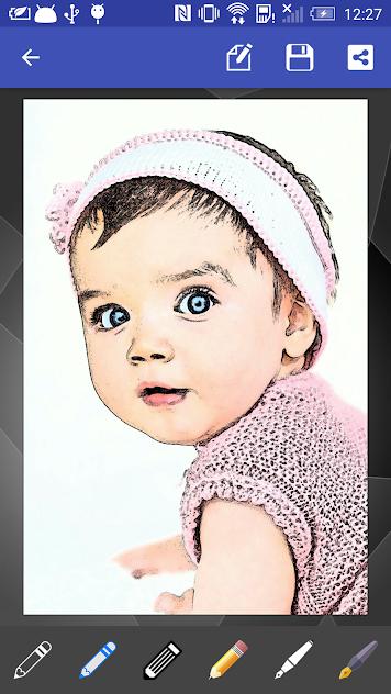 تطبيق رسم البورتريه Portrait Sketch Ad-Free v3.2 [المدفوع]