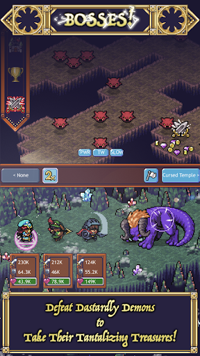 Cave Heroes: Idle Dungeon Crawler screenshots 2