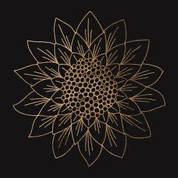 Gold Sunflower - Etsy Shop Icon item