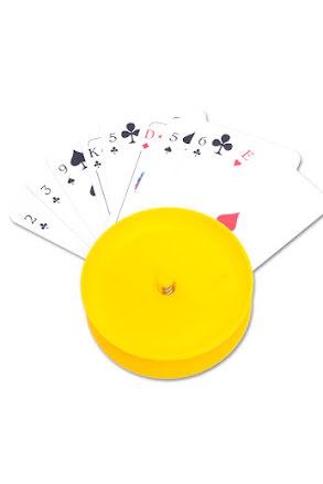 Korthållare, gul