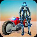 Real Police Robot Hero Crime War icon