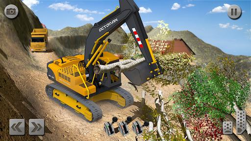 Sand Excavator Truck Driving Rescue Simulator game 5.0 screenshots 6