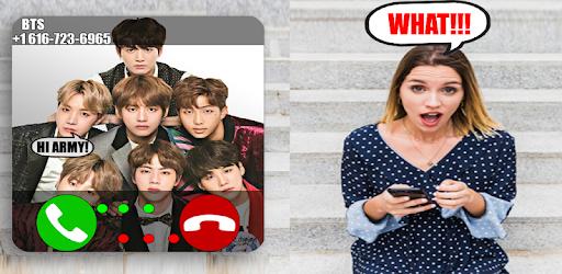 Call From Kpop BTS - BTS Calling you Prank – Programme op