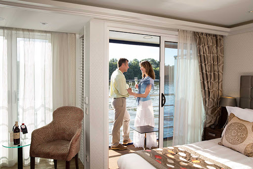 amaprima-stateroom.jpg - Enjoy the passing views of Amsterdam, Budapest and more during your vacation on AmaPrima.