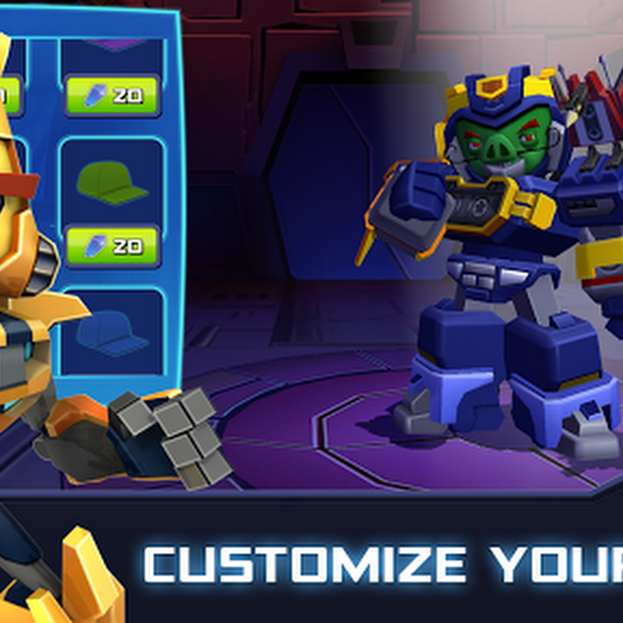 Angry Birds Transformers 1.17.6 MOD APK+DATA (UNLIMITED COINS)