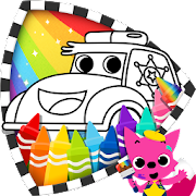 App Cars Coloring Book PINKFONG APK for Windows Phone