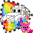 Cars Coloring Book PINKFONG