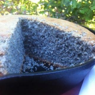 Gluten Free Blue Cornbread