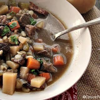 Crock-Pot Beef Barley Stew.
