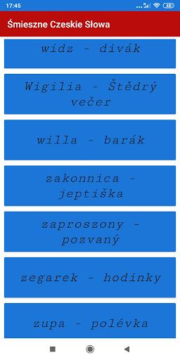 Śmieszne Czeskie Słowa screenshot 4