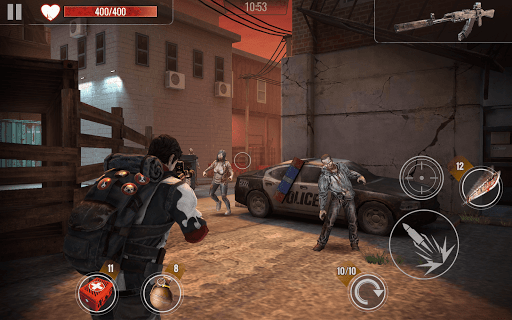 ZOMBIE SHOOTING SURVIVAL: Offline Games apkdebit screenshots 22