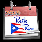 Puerto Rico Calendar 2019