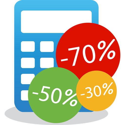 ⭐ Discount Calculator Icon