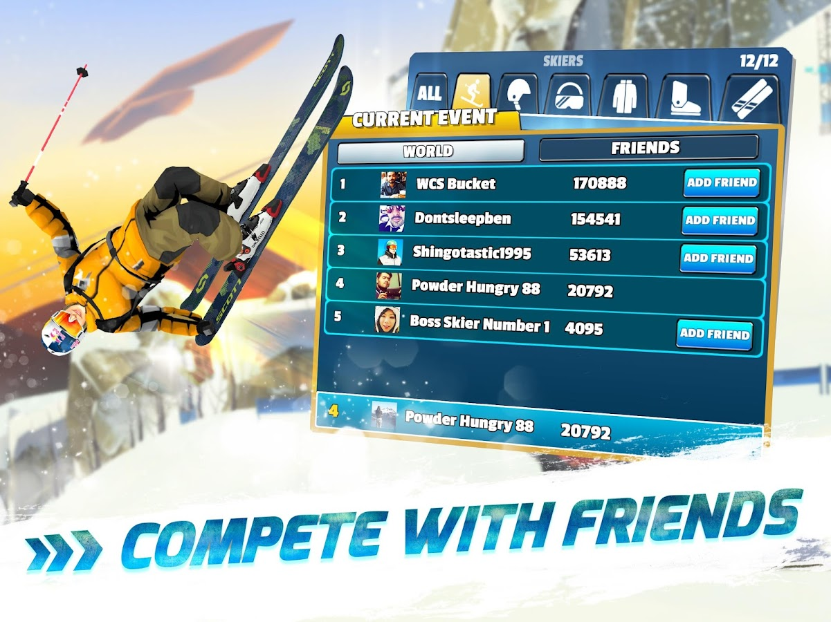 Red Bull Free Skiing- screenshot