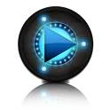 PowerAMP Status Bar Controller icon