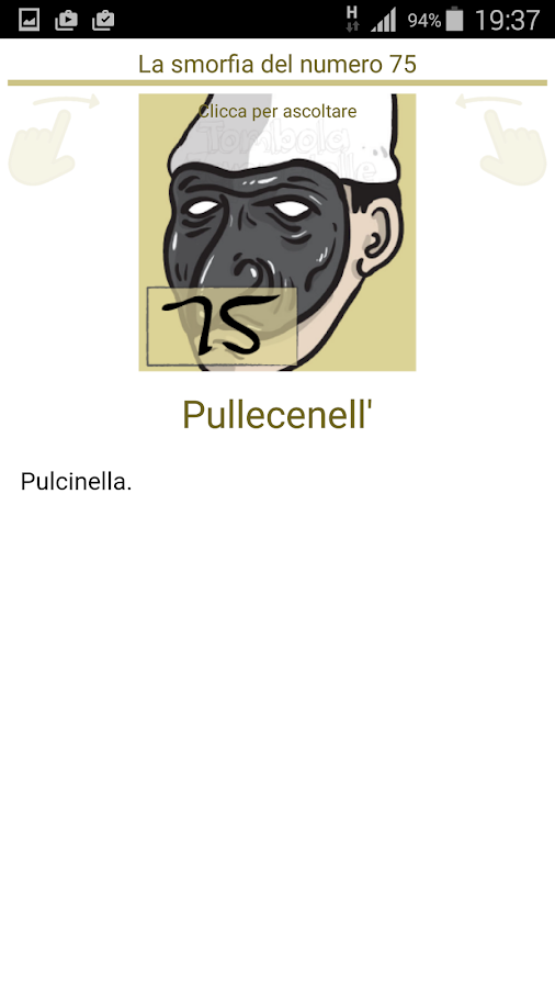 Cartellone tombola zappetelle app android su google play for Cartelle tombola per anziani