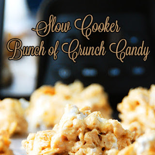 Slow Cooker Bunch of Crunch Candy.