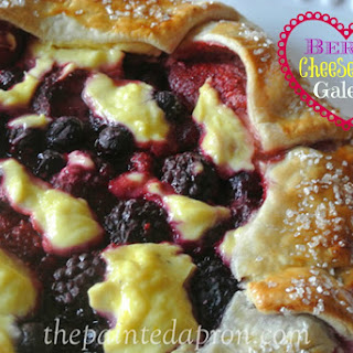 Recipe Box, Berry Cheesecake Galette.