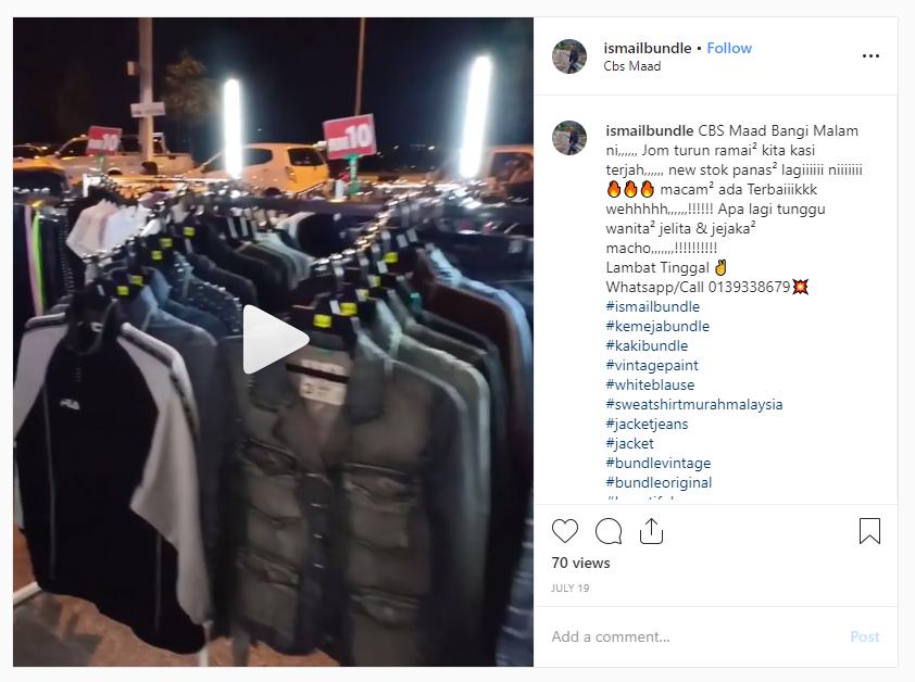 Instagram post jacket