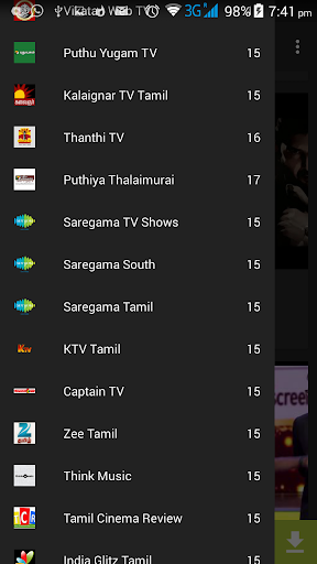 Tamil Television Show Live