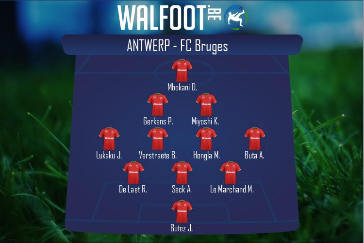 Antwerp (Antwerp - FC Bruges)