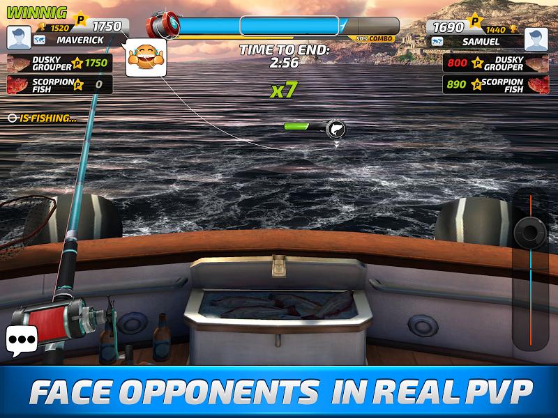 Fishing Clash: Catching Fish Game. Bass Hunting 3D Screenshot 3