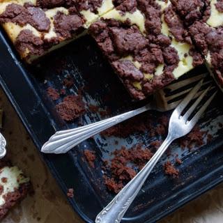 Russian Chocolate Cheesecake.