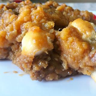 Scrumptious and Easy Sweet Potato Casserole!.