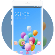 Balloons in the blue sky theme APK
