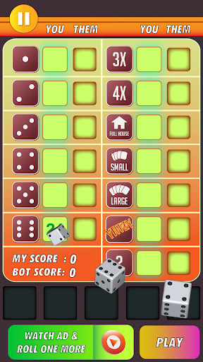 Yatzy Classic Dice Game - Offline Free 3.1 screenshots 5