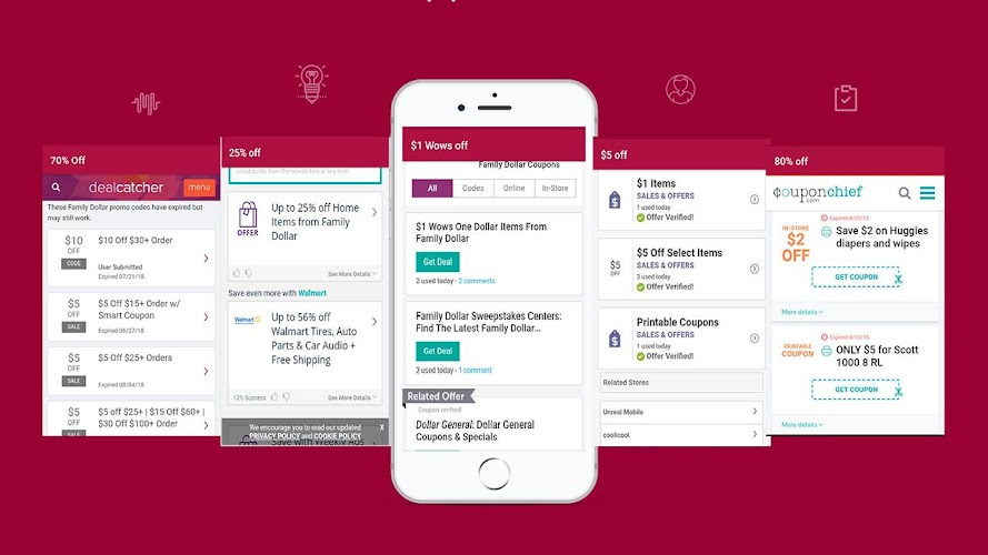 Download Smart Coupons for Family dollar Groceries Tips APK