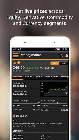 Moneycontrol Markets on Mobile 3.1 screenshot 237151
