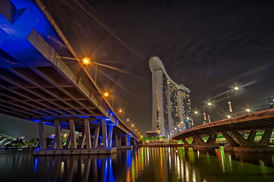 Double Bridges by Crispin Lee - Buildings & Architecture Bridges & Suspended Structures