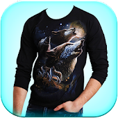 Men Design T Shirt Photo Editor - Tshirt Designs