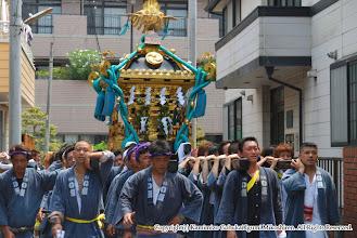 Photo: 【平成20年(2008) 本宮】  本久地区の住宅街を氏子回り。