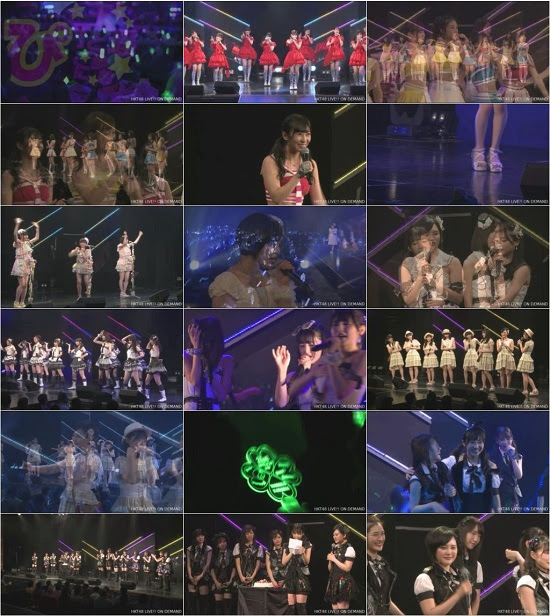 (LIVE)(720p) HKT48 チームH「シアターの女神」公演 兒玉遥 生誕祭 Live 720p 170919